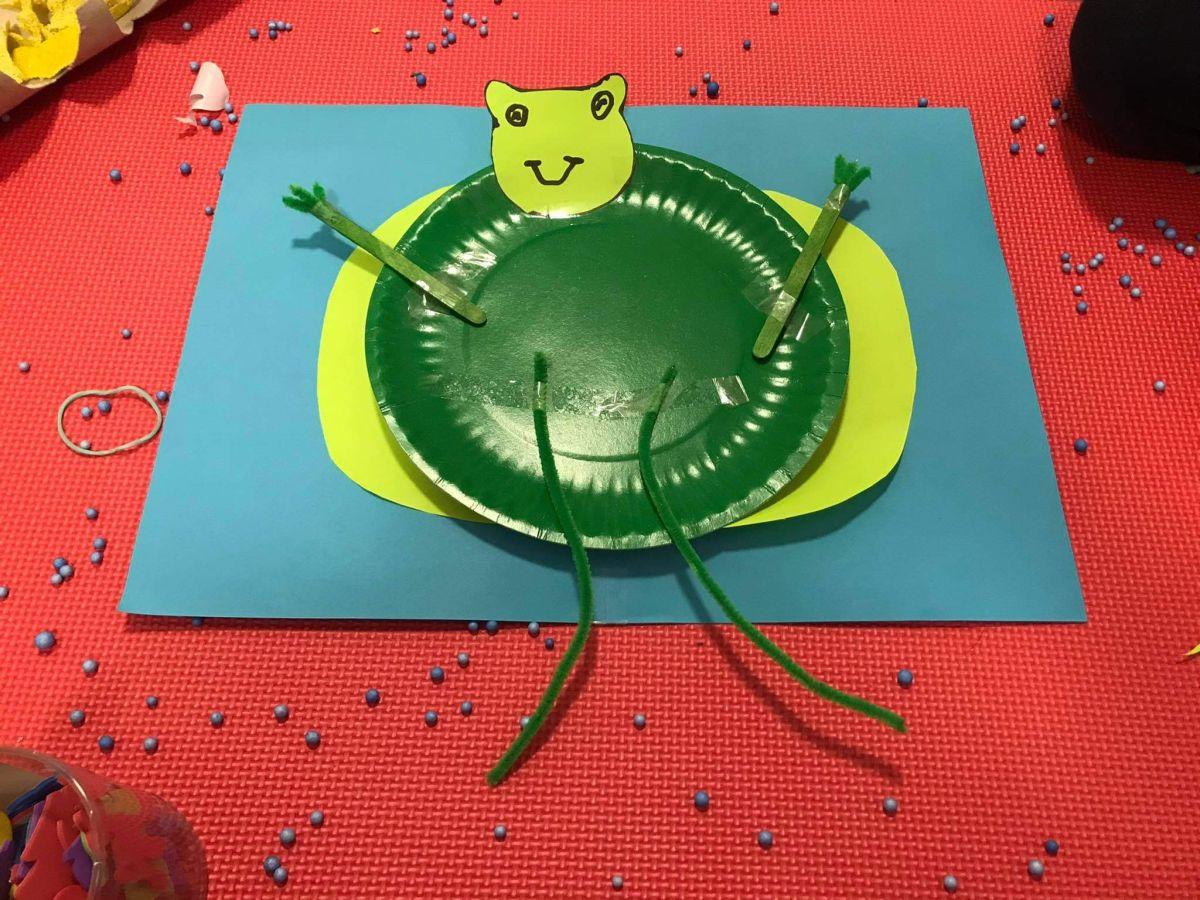 Tak skacze nasza żabka