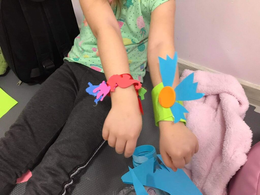 Twórcze bransoletki